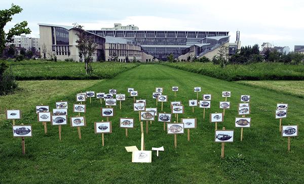 Lotissement 1 - installation de Franck Fontaine - 2002